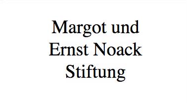 Margot und Ernst Noack Stiftung