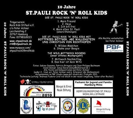 10 Jahre St. Pauli Rock'n'Roll Kids (2011)