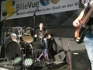 Dominic – Schlagzeug – St. Pauli Rock'n'Roll Kids