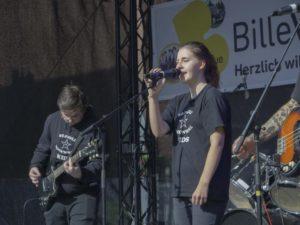 Leonie – Gesang, Schlagzeug – St. Pauli Rock'n'Roll Kids