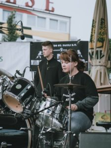Letizia – Schlagzeug, Gesang – St. Pauli Rock'n'Roll Kids