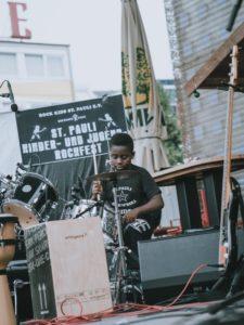 Manaseh – Schlagzeug – St. Pauli Rock'n'Roll Kids