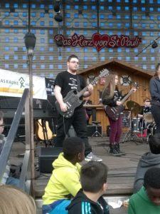 Max – Gitarre – St. Pauli Rock'n'Roll Kids