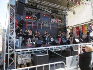 Jolly Roger Bühne Hafengeburtstag 2016